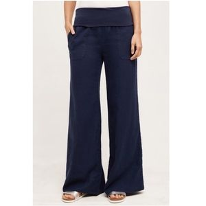 Details about  /NEW Anthropologie Annecy Culottes Wide-Legs Pants by Hei Hei Navy//White Size S